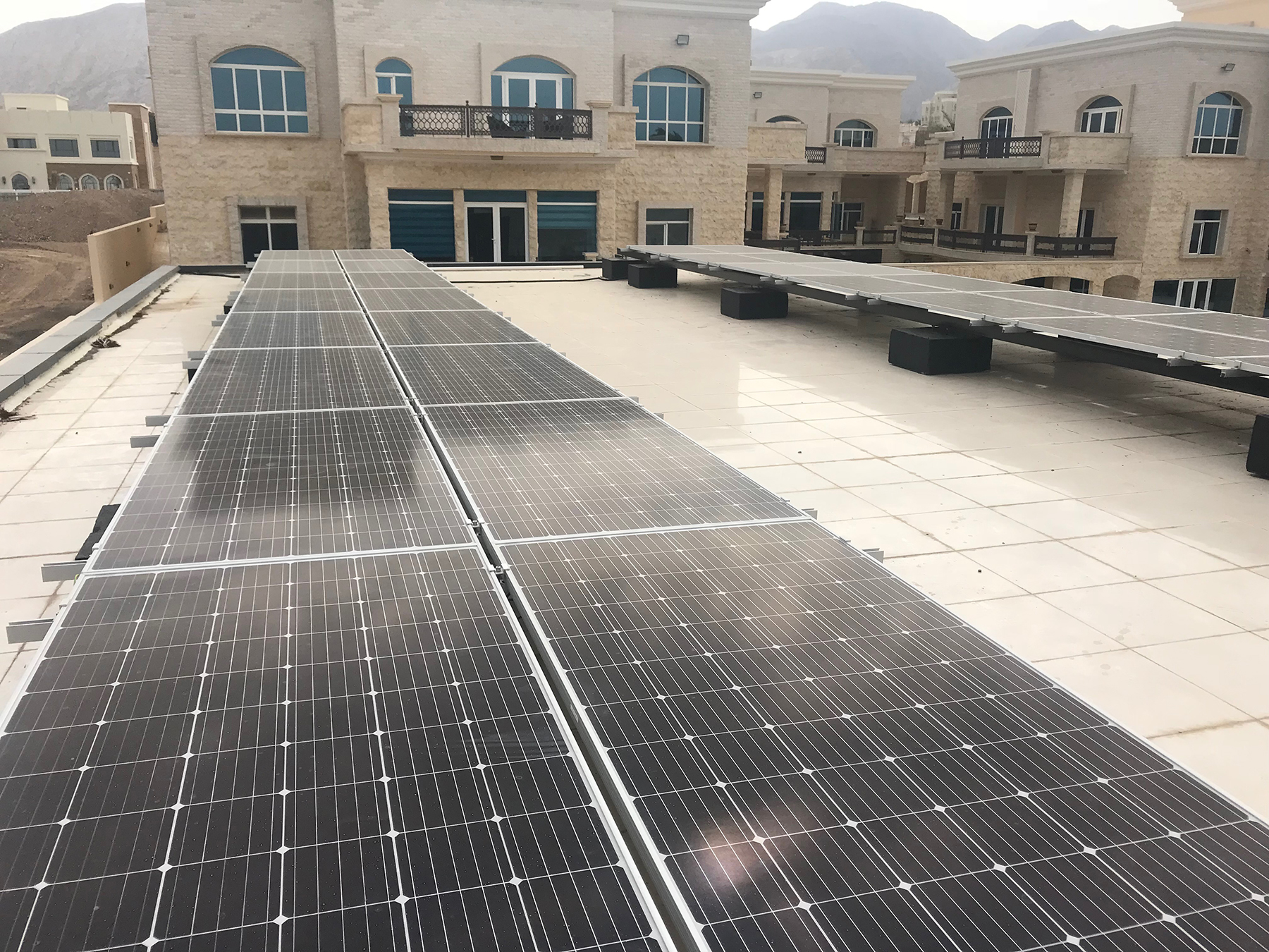 Solar energy project for residential homes