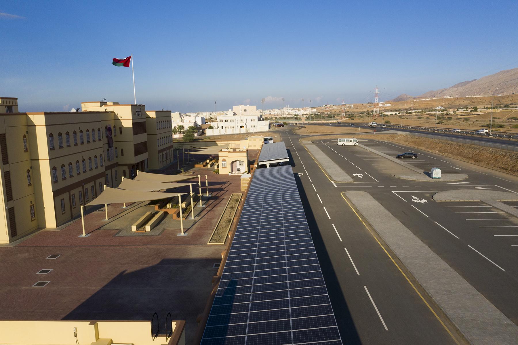 مدرسة صفية بنت الخطاب – الانصب، مبادرة شركة شل عمان للمدارس